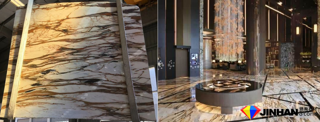 Siena Gold Marble project