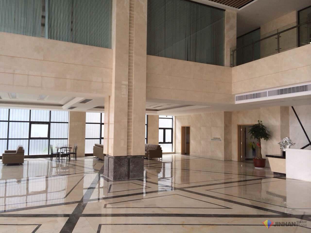 Shanghai Bank Lobby